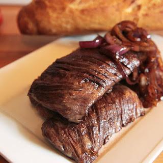 Sous Vide Skirt Steak.
