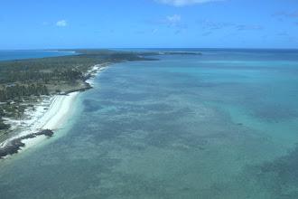 Photo: The reefs around Vamizi island