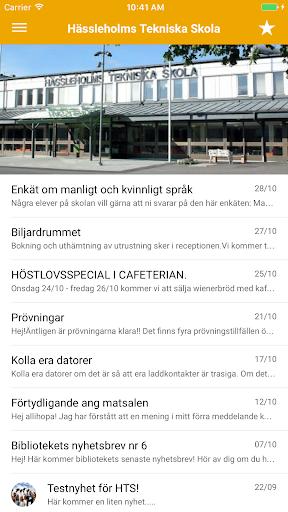 Skolapp Hässleholm screenshot 3