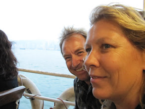 Photo: Day 200 -  Us on the Star Ferry #3
