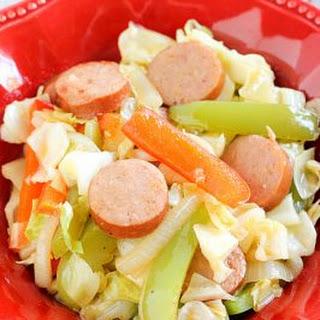 Kielbasa and Cabbage Skillet.