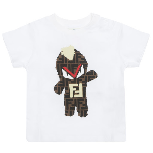 Primary image of Fendi Fendirumi Print T-shirt