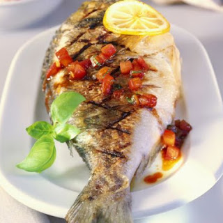Whole Bream with Salsa