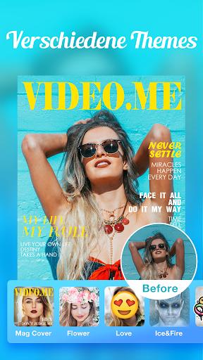 Video.me – Video-Editor, Video-Maker, Effekte screenshot 4