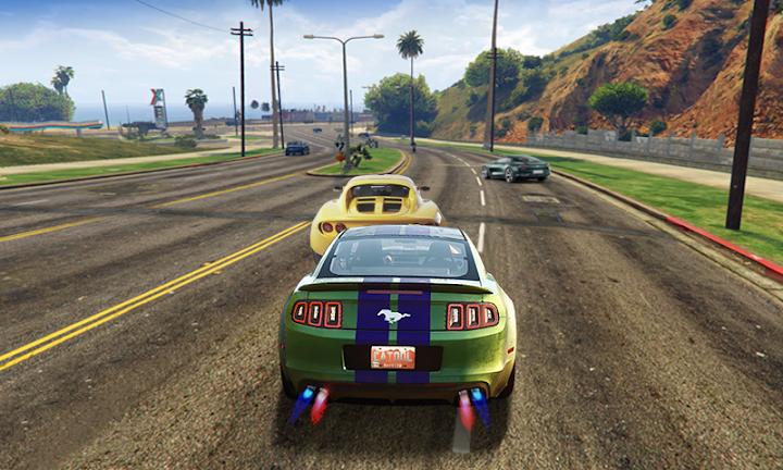 City Car: Fast Racing Android App Screenshot