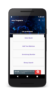 100+ Java Programs with Output App Latest Version  Download For Android 1