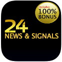 24option news & signals icon