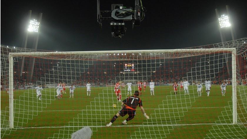 Iker Casillas no atrapó el penalti lanzado por Álvaro Negredo.