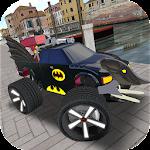 Batmobile Flight Drift Icon