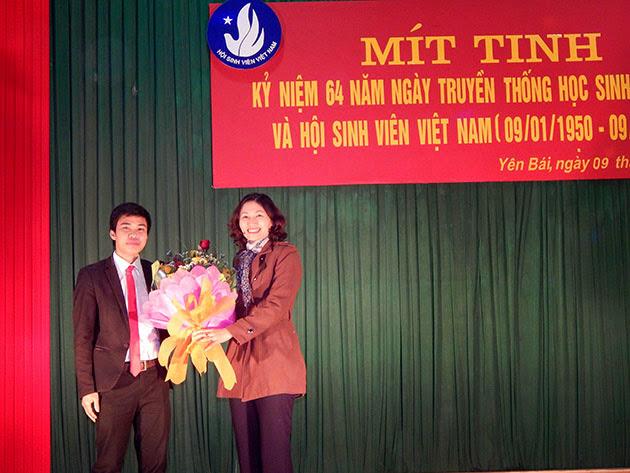Mít tinh kỷ niệm 64 năm ngày truyền thống học sinh sinh viên và hội sinh viên Việt Nam