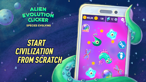 Alien Evolution Clicker: Species Evolving 1.0.5 gameplay | by HackJr.Pw 4