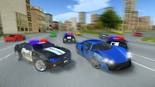 Police Car Chase : Hot Pursuit  screenshots 4