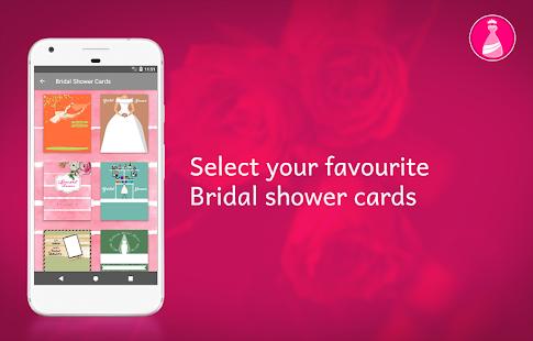 Bridal Shower Invitation Card Maker - náhled