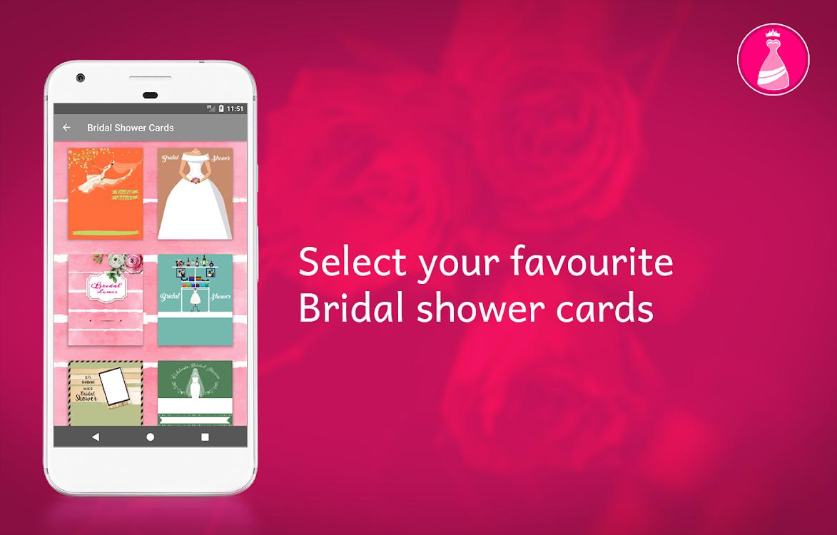 Bridal Shower Invitation Card Maker Android Apps Appagg