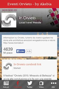 Eventi Orvieto- miniatura screenshot
