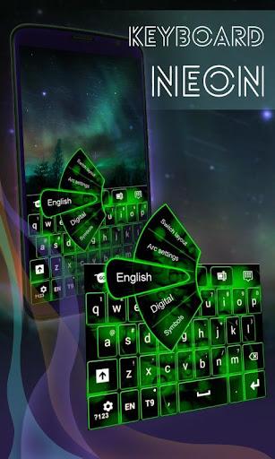 霓虹燈鍵盤銀河S5