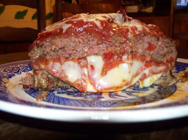 Pizza Pizza Meatloaf!!! Dana's Recipe