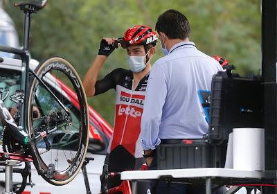 """Lotto Soudal speelt al zijn derde renner kwijt in de Tour: """"Het was vooral wonden likken"""""""