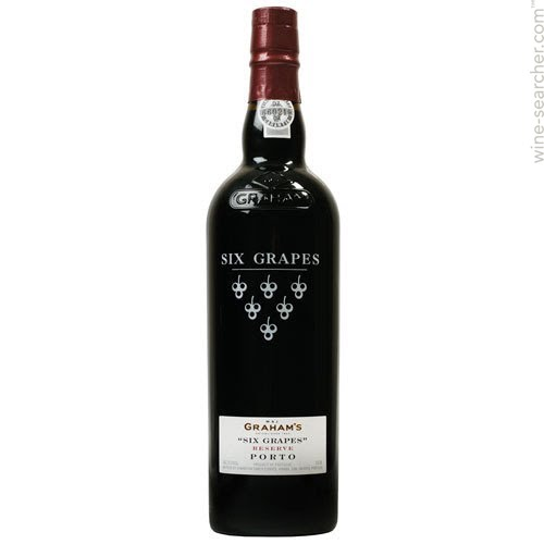 Logo for Grahams Six Grapes Ruby Port