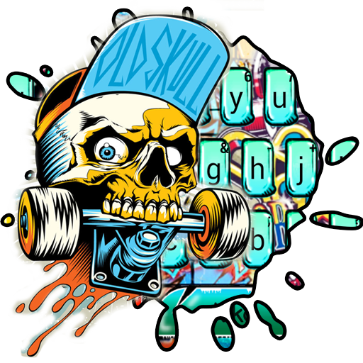 Street Skate Graffiti Keyboard Theme Icon