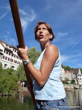 Photo: Stocherkahn Diplom mit dem Sportinstitut der Fessler Mühle ...