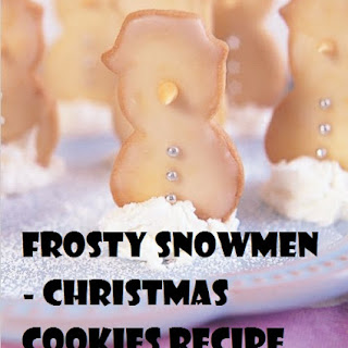 Frosty Snowmen – CHRISTMAS COOKIES.