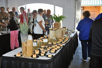 Photo: Dessert setup in the pavilion