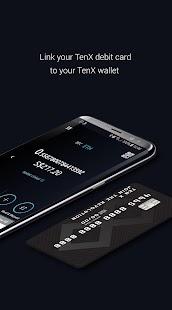 TenX - Blockchain Asset Wallet - náhled