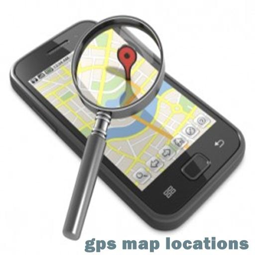 gps map locations 通訊 App LOGO-APP試玩