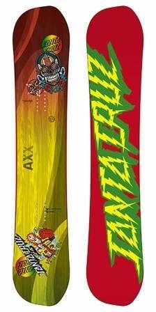 Santa Cruz Asymetric AXX Snowboard
