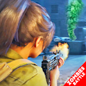 Zombies Fire Strike: Shooting Game Free Download icon