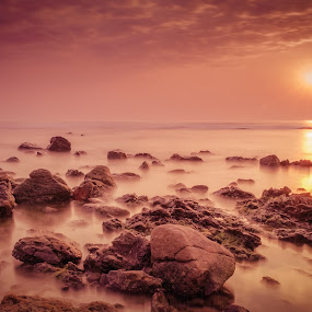 by Murthy Putrevu - Landscapes Sunsets & Sunrises ( #sunrise #vizag #visakhapatnam #nature #beach,  )