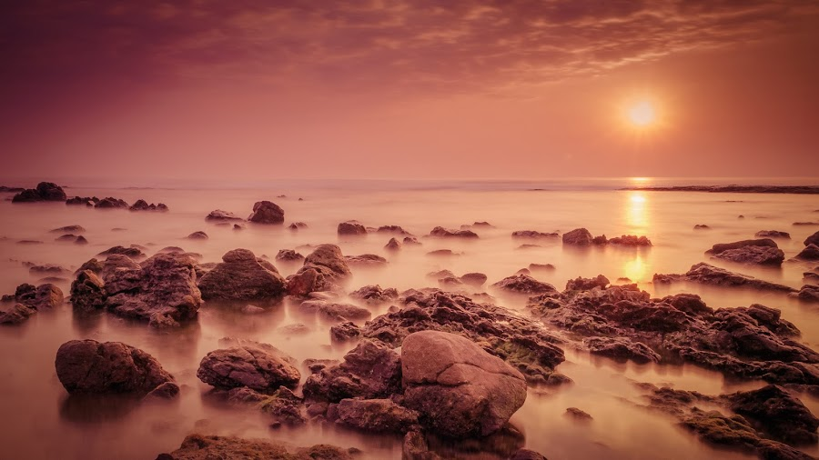 by Murthy Putrevu - Landscapes Sunsets & Sunrises ( #sunrise #vizag #visakhapatnam #nature #beach,  )