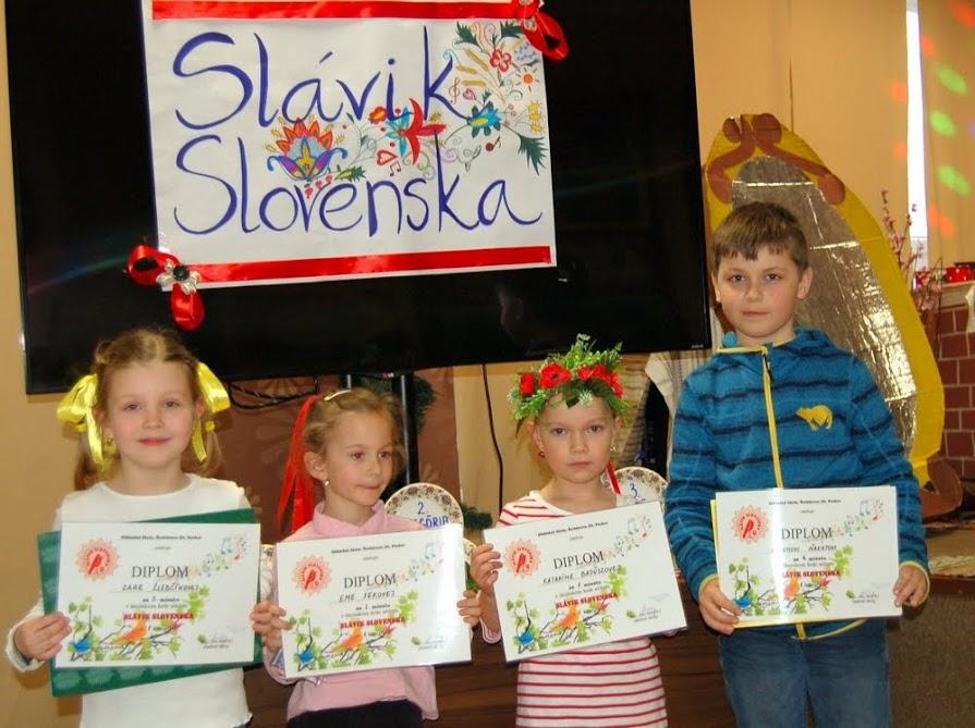 Slávik Slovenska 2018