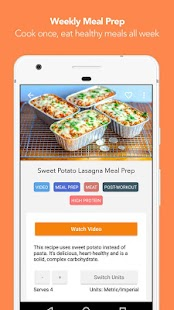 FitMenCook - Healthy Recipes- screenshot thumbnail