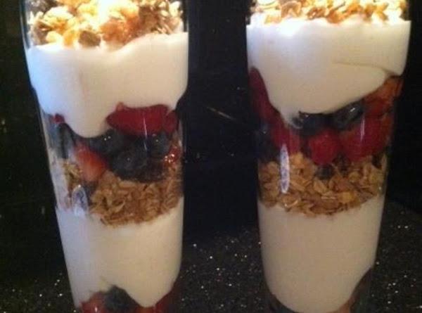 Fruit N Granola Yogurt Parfait Recipe