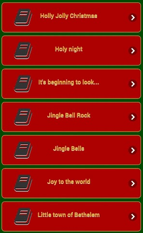 android Chants de Noël Screenshot 6
