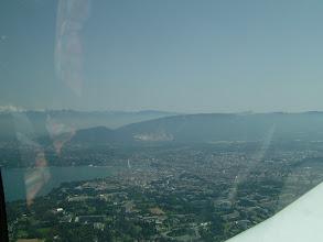 Photo: A view of the city of Geneva http://www.swiss-flight.net