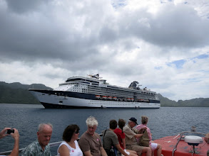 Photo: Celebrity Millennium seen from the tender