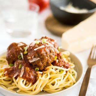 Easy Crockpot Italian Meatballs.