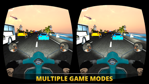 VR Ultimate Traffic Bike Racer 3D  screenshots 18