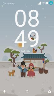 Korean New Year ND Xperia Theme - náhled