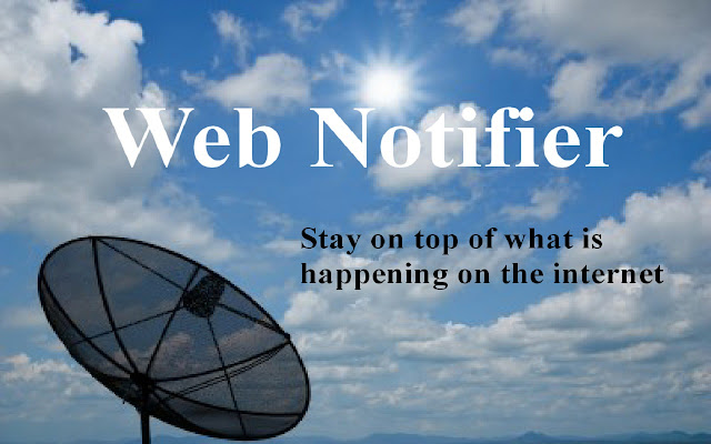 Web Notifier