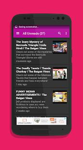 The Baigan Vines Fan App - náhled