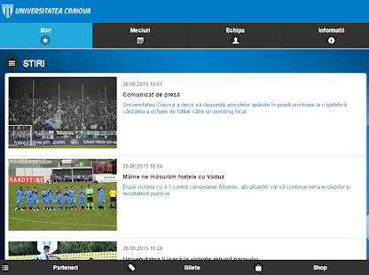 Universitatea Craiova- screenshot thumbnail
