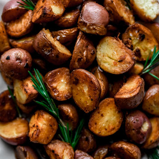 Crispy Stovetop Roasted Red Potatoes.