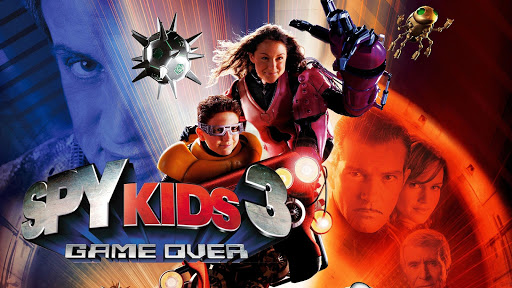 Image result for spy kids 3d game over