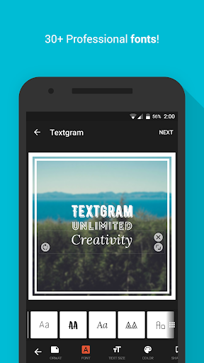 Textgram - write on photos for PC
