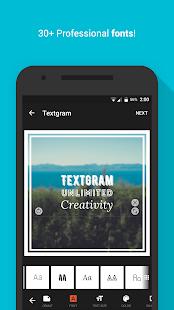 App Textgram - write on photos APK for Windows Phone