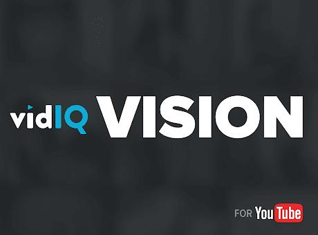 vidIQ Vision for YouTube